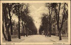 Ansichtskarte / Postkarte Neustrelitz Mecklenburg,Wohnviertel Neustrelitzerstr