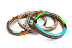 Bracelet (recycled Skateboards)