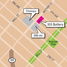 Denver investor eyes apartments in Belltown    Probably next year, the Battery Street Tunnel will be filled with construction debris from the viaduct removal. Now a bordering site at 303 Battery St. appears to be in play.