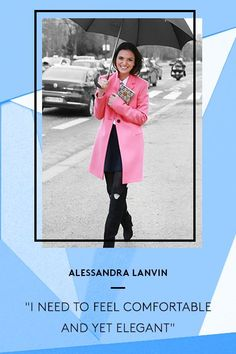 8 French Women Tell Their Secrets To Looking GREAT, Every Day #refinery29  http://www.refinery29.com/french-fashion#slide-6  Alessandra Lanvin, founder of luxury footwear line Aperlai