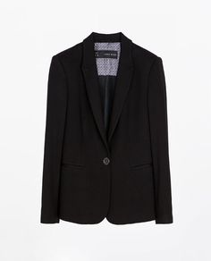 Image 6 of BLAZER WITH PIPING from Zara