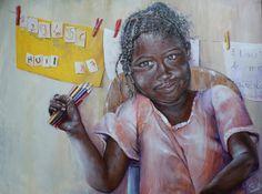 écrire, dessiner l'AMOUR Art, Love Words, Toile, Draw, Children, Art Background, Kunst, Performing Arts