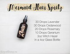 Mermaid Hair Spritz: My Secret for Beautiful Healthy Long Hair!