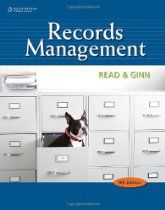 Bundle Records Management, + Simulation + Study Guide + WebTutor(TM) ToolBox for Blackboard Printed Access Card, Judith Read, Cengage Learning;