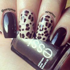 Leopard mani by mireyaaxo