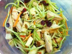 Chicken+Apple Broccoli Slaw Salad