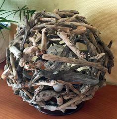 Lampes bois flotté, vente en ligne - Zen Beaucoup. Retrouvez toutes mes créations sur : http://www.zen-beaucoup.fr/en-boutique/lampes/
