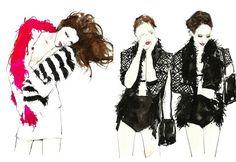 Vita yang fashion illustrations