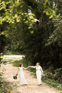 #aandberealbride // minnesota wedding // rebecca schoneveld gowns
