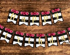 Set of 5 Paper Flowers, Paper Roses, nursery decor, wall decor Birthday Wishes For Him, Happy Birthday Greetings, Happy Birthday Banners, 50th Birthday Party Decorations, 60th Birthday Party, Mylar Letter Balloons, Party Photo Frame, Paper Flower Backdrop, Flower Garlands
