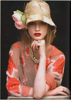 straw hat lolita, love this hat for my honeymoon. I want to go look at straw hats for the beach. Beauty And Fashion, Womens Fashion, Plum Pretty Sugar, Foto Fashion, Hippie Fashion, Fashion 2018, Fashion Models, Spring Fashion, Indian