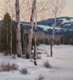 Winter Whites by Kathleen Dunphy Oil ~  x