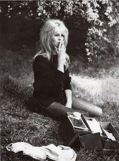 "https://flic.kr/p/6uqwJw | Brigitte Bardot, 1961 | ""La Vie Privee"""