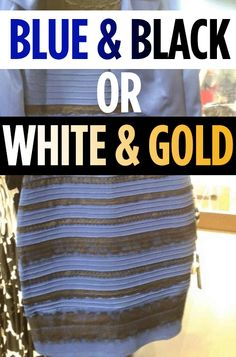 Is This Dress Blue And Black Or White And Gold? Here's What The Experts Say