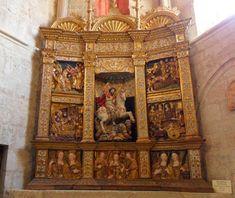 Retablo de la iglesia de Santa María la Real de Sasamón