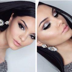 Stunning look by @makeupbyevon via IG using Makeup Geek's Mercury, Cocoa Bear and Corrupt eyeshadows.