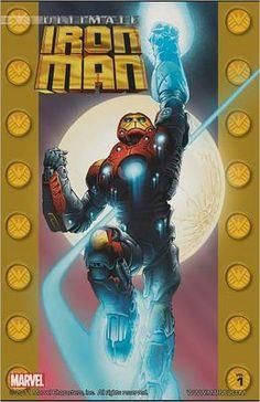 Ultimate Iron Man, Volume 1  by Orson Scott Card, Andy Kubert