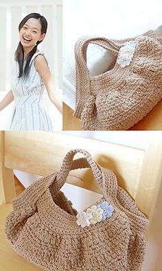 Free pattern for crochet bag ✿⊱╮Teresa Restegui http://www.pinterest.com/teretegui/✿⊱╮