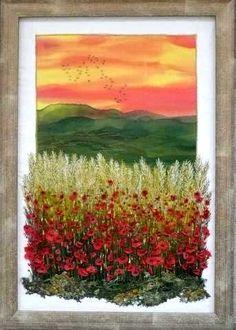 Gilda Baron Embroidered Landscapes