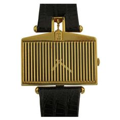 Corum Yellow Gold Rolls Royce manual-wind Wristwatch | From a unique collection of vintage wrist watches at https://www.1stdibs.com/jewelry/watches/wrist-watches/