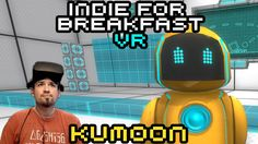 Indie for Breakfast VR - Kumoon: Ballistic Physics Puzzle #akamikeb #vrgame #vr #i4b