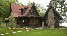 Rustic Cabin - traditional - exterior