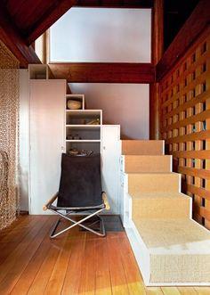 von auen ein betonklotz von innen eine gemtliche hhle aus holz und licht das - Gemutliche Holzverkleidung Innen