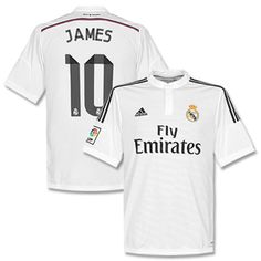 Adidas Real Madrid Home James No.10 Kids Shirt 2014 Real Madrid Home James No.10 Kids Shirt 2014 2015 (Official Printing) http://www.comparestoreprices.co.uk/football-shirts/adidas-real-madrid-home-james-no-10-kids-shirt-2014.asp