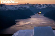 Mason Aguirre  Photo: Frode Sandbech  Wallpaper Wednesday: Man Made | Backcountry, Park, Photos, Resort, Travel | TransWorld SNOWboarding