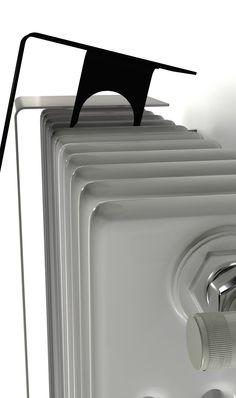 Una lámina de acero de ultra-delgada cubre los viejos radiadores tubulares