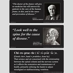 Chiropractic Quotes - BodyPartChart Official Site. For discovery room or therapy room