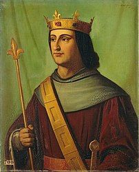 Philippe VI, Roi de France (born acceded died painting by Joseph-Nicolas Robert-Fleury Adele, Joseph, Nicola Roberts, Dead King, French Royalty, Carolingian, Cultura General, French History, Christian Art
