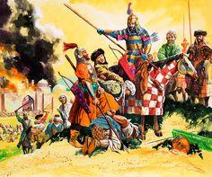 Le sultan Timur dit Tamerlan et l'armée Timourides