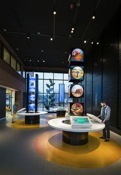 Monsanto Chesterfield Corporate Exhibit by Kyle Green, via Behance