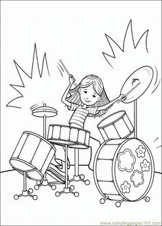 Groovygirls Coloring Page 029 Coloring Page