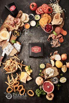 ▒ Toraii Republic - 토라이 음식사진 연구소 ▒ Food Photography, Wings, Menu, Bread, Cheese, Poster, Design, Style, Menu Board Design