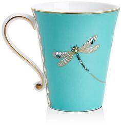 Prouna My Dragonfly Mug - Tiffany Blue Azul Tiffany, Tiffany Blue, Stars Disney, Coffee Cups, Tea Cups, Dragonfly Decor, Dragonfly Photos, Cute Mugs, Mug Cup