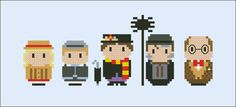 Mary Poppins parody Cross stitch PDF patterb by cloudsfactory