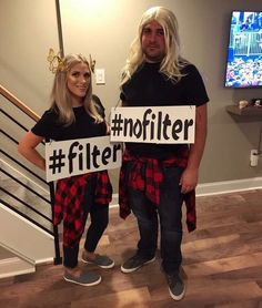 Struggling to find a Halloween costume? Look through this list of 20 Funny Halloween Costumes. Halloween costumes should be fun and easy, too! Group Halloween Costumes, Carnival Costumes, Halloween 2019, Halloween Outfits, Diy Costumes, Halloween Diy, Clever Costumes, Halloween Couples, Group Costumes