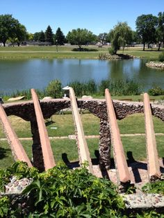 Japanese Garden At Terrace Park in Sioux Falls, SD