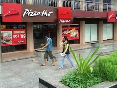 """#Irresistible #offer! """"Keep your #friends close and your #pizza closer."""" at Pizza Hut Highway Plaza"""