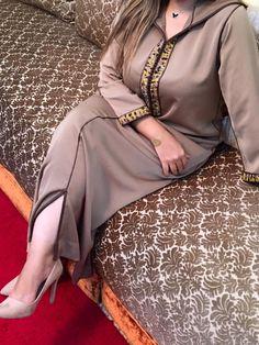 جديد الموضة الجلابة المغربية مخدومة بسفيفة والعقيق 2016