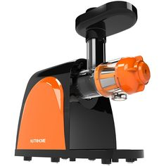 Masticating Juicer, Slow Juicer, Cold Press Juicer with Juice Cup,  Pulp Cup and Cleaning Brush, Juicer Machine for High Nutrient Fruit and Vegetable Juice         ** Click on the image for additional details. (This is an affiliate link) #KitchenDining