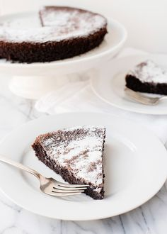 Gluten Free and Dairy Free Chocolate Olive Oil Cake
