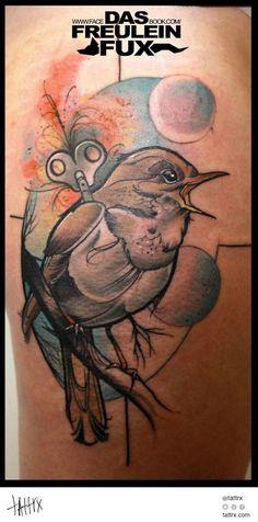 Tätowierungen   Tattoo by Freulein Fux