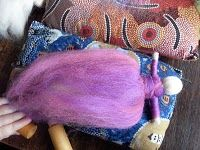 Excellent Needle (dry) felted doll tutorial.