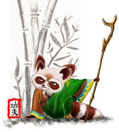 Kung Fu Shifu by TheArtsyAardvark on DeviantArt