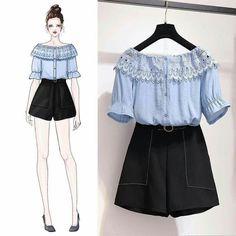 55 Ideas fashion clothes hijab for 2019 Cute Fashion, Look Fashion, Girl Fashion, Womens Fashion, 70s Fashion, Korean Street Fashion, Asian Fashion, Fashion Drawing Dresses, Fashion Dresses