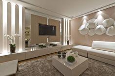 Casa Cor PR 2012 : Salas de estar modernas por Rolim de Moura Arquitetura e Interiores