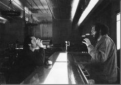 Kubrick vs Nicholson at Shining